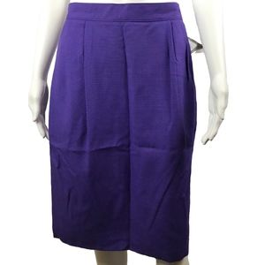 Sag Harbor Skirt Womens Size 12 A Line Pleated